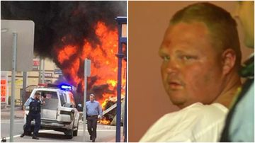 Rodney Johnson was hallucinating and hadn't slept in four days when he crashed a semi-trailer, injuring eight people.