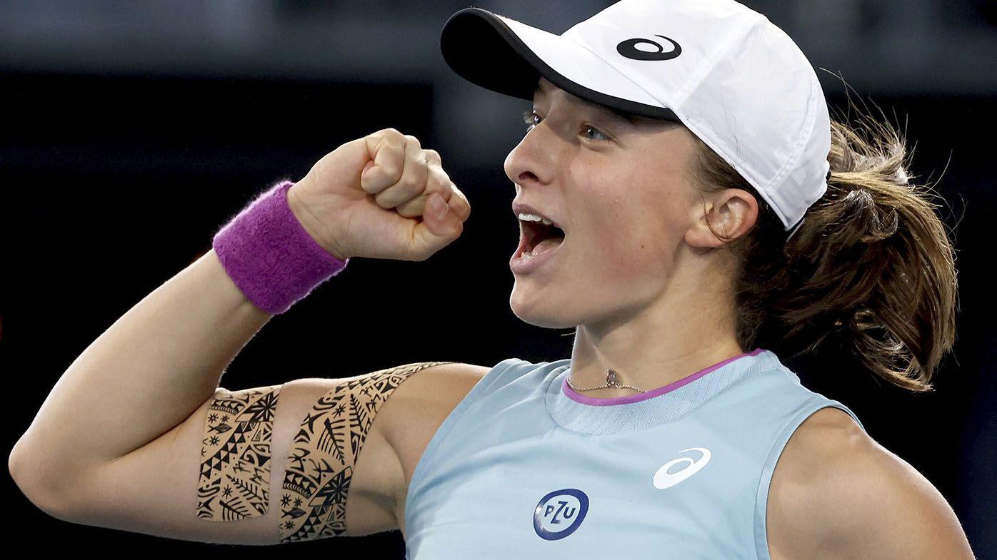Iga Swiatek beats Belinda Bencic in Adelaide International WTA final for second title