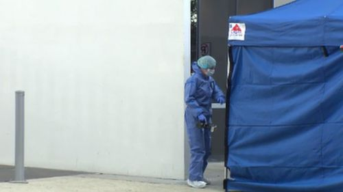 Police have established a crime scene after a woman fell to her death from a Gold Coast apartment. (9NEWS)
