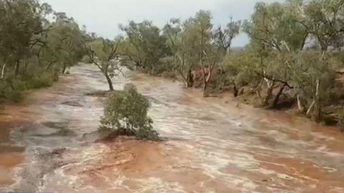 Rain has fallen in Bilpin just weeks are bushfires tore through the area.
