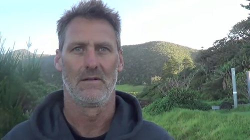 Kayaker Scott Donaldson will attempt to cross the Tasman Sea from Australia to New Zealand. Picture: 9NEWS.