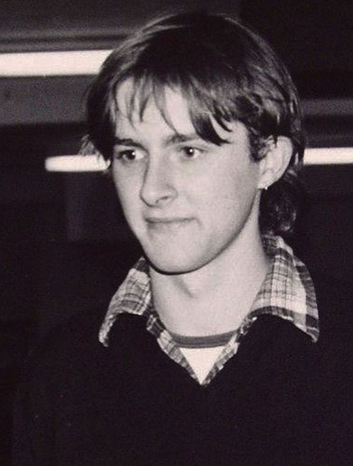 Anthony Albanese as a younger man.