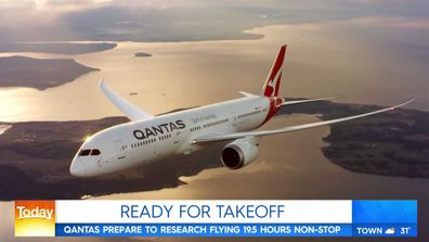 Qantas segment on Today Show