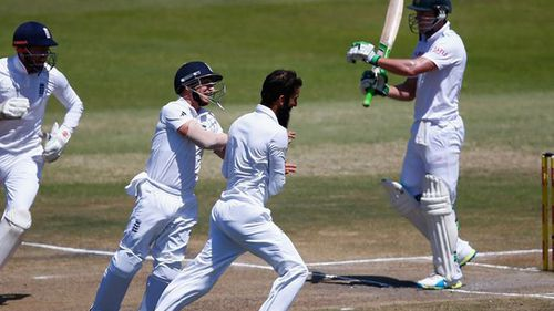England thrashes South Africa by 241 runs in opening Test