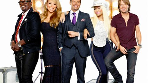 First look: Mariah, Nicki and Keith in cheesy <i>American Idol</i> 2013 promo