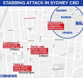 Sydney stabbing CBD: Woman found dead in apartment after attack
