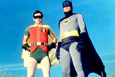<b>Adam West</b>. Ill-fitting fabric costumes. Lopsided crotches. Hubba, hubba.