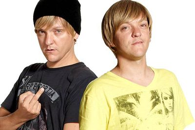"These identical twins &mdash; who first appeared in Chris Lilley's series <i>We Can Be Heroes</i> &mdash; hailed from a town called Dunt, which is pretty bogan. Daniel's fondness for swearing and ""mainies"" were just icing on the bogan cake."