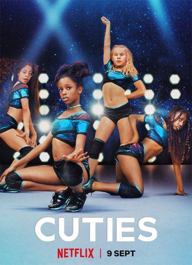 Cuties Netflix poster