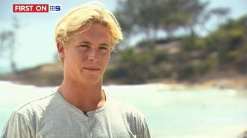 VIDEO: Queensland surfer ready to ride with the big guns