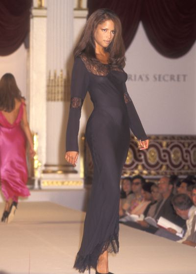 Veronica Webb at the 1995 Victoria's Secret Show