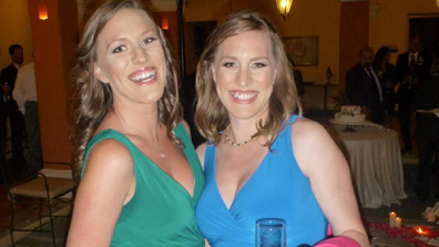 Identical twins diagnosed with breast cancer weeks apart.