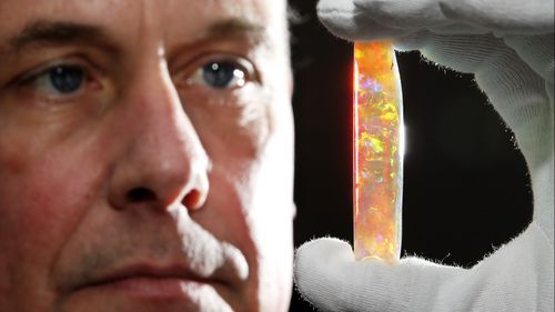 The Virgin Rainbow: World's finest opal worth more than $1m to go on display in South Australia