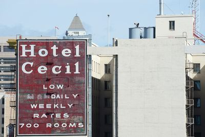 <strong>Hotel Cecil, Los Angeles</strong>