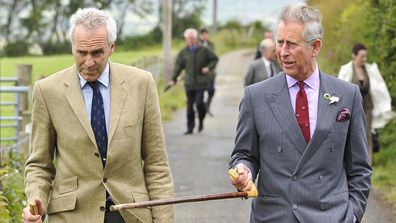 Patrick Holden pictured with Prince Charles.