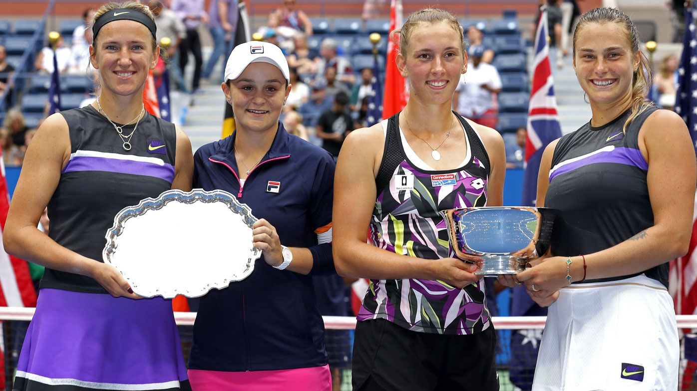 Ashleigh Barty and Victoria Azarenka lose US Open doubles final