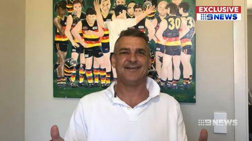 South Australian champion footballer Grantley Fielke.