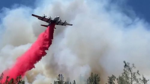 A fire has swept through the small town which was the hottest ever place in Canada.
