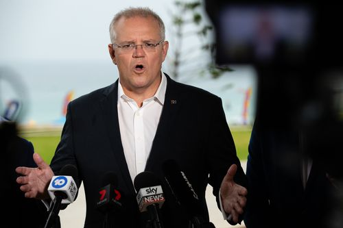 The Morrison government has not ruled out additional tax cuts as the Federal election gets closer.