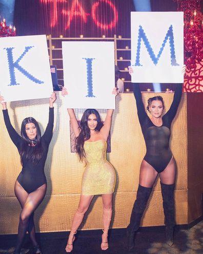 Kim Kardashian, 40th birthday, party, celebration, Instagram, photo