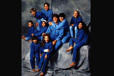 The combined Jenner-Kardashian family rivalled the Brady Bunch.