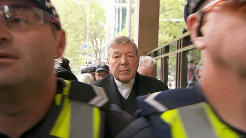 The Cardinal is facing charges over alleged historical sexual offences.