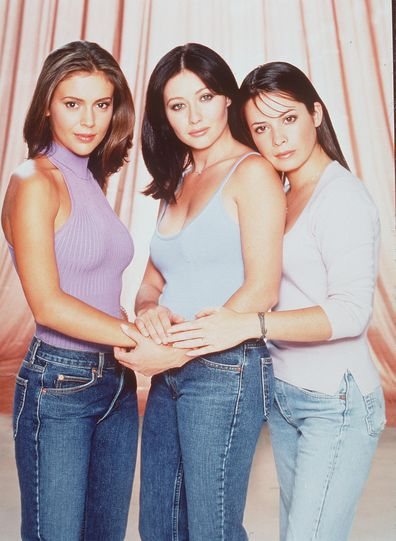 Alyssa Milano, Shannen Doherty, Holly Marie Combs, Charmed, 1999