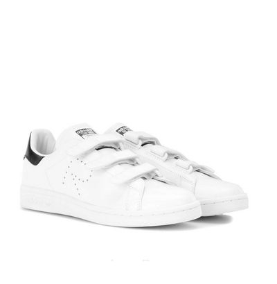 "A style staple. These hard-working sneakers will work back with everything in your wardrobe, from everyday neutrals to midi-skirts, maxi dresses, trousers and jeans. A solid Monday-to-Sunday investment. <br> <br> adidas by Raf Simons Stan Smith leather sneakers, $429.<a href=""http://www.mytheresa.com/en-au/stan-smith-comfort-leather-sneakers-675084.html?catref=category"" target=""_blank""> Mytheresa.com<br> </a>"