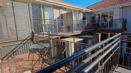 Many of the apartments have balconies which are connected to each other. (Booking.com)