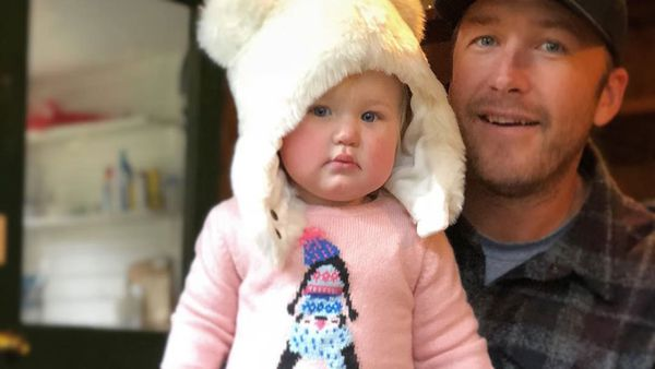 Bode Miller and Emeline (Instagram @morganebeck)