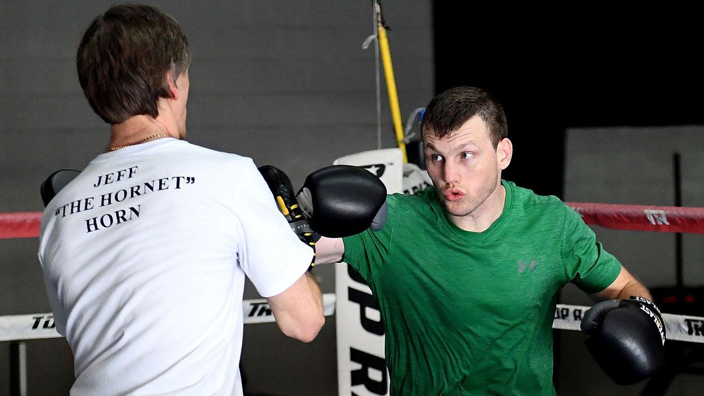 "Australian boxer Jeff Horn the ""pawn"" in promoter Bob Arum's boxing plot"