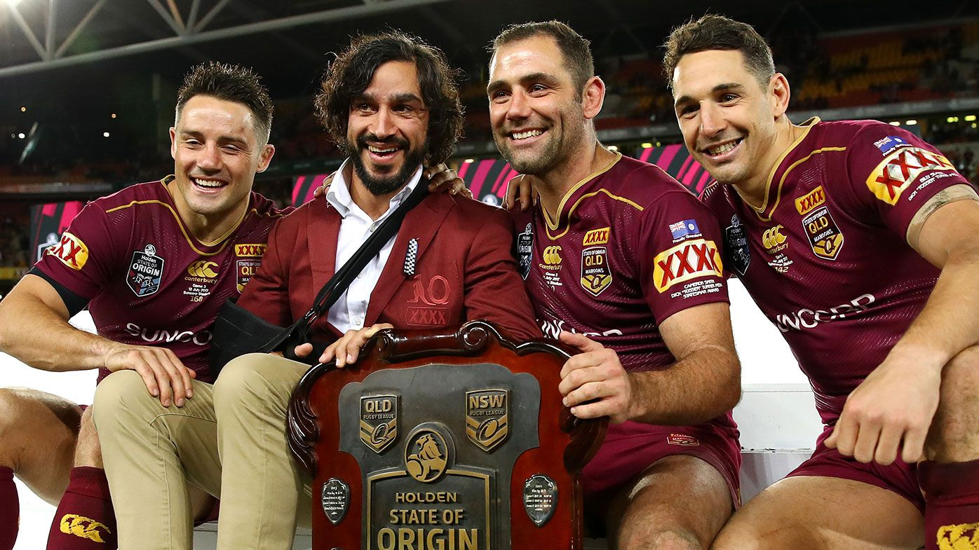 Cooper Cronk, Johnathan Thurston, Cameron Smith, Billy Slater
