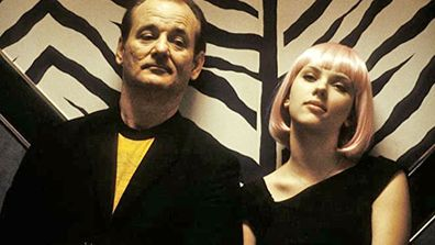 Bill Murray and Scarlett Johansson in Lost In Translation