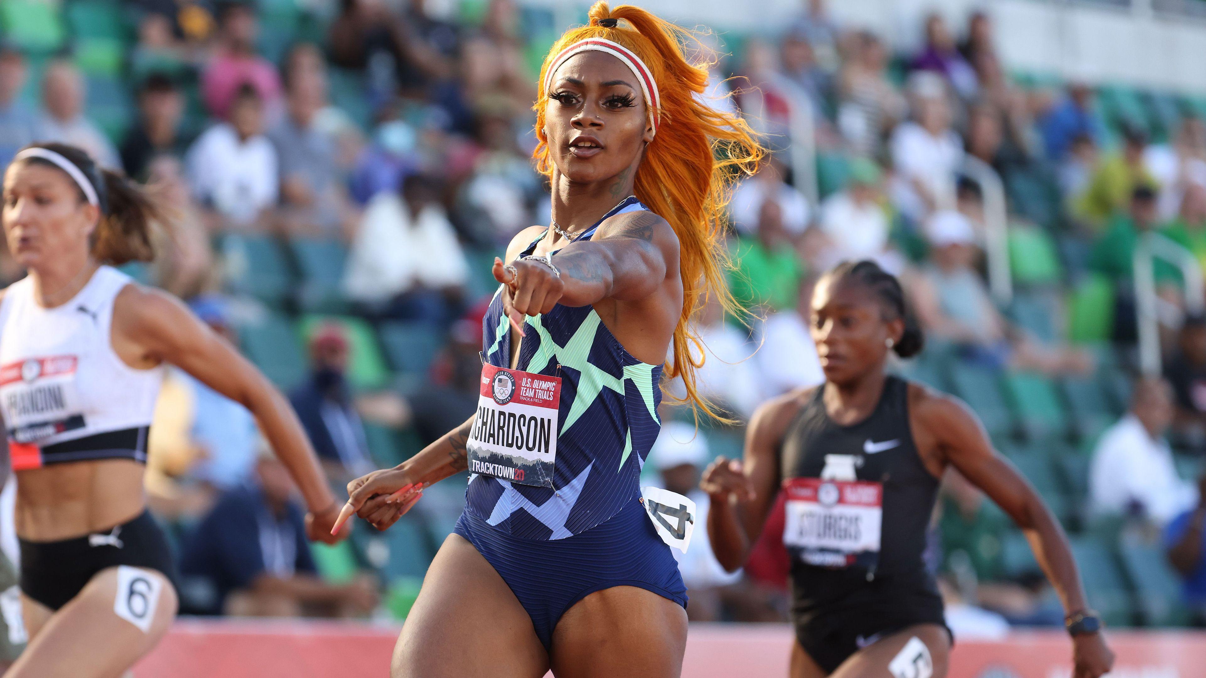US Olympic team rocked with Sha'Carri Richardson to miss Olympic 100 after marijuana test