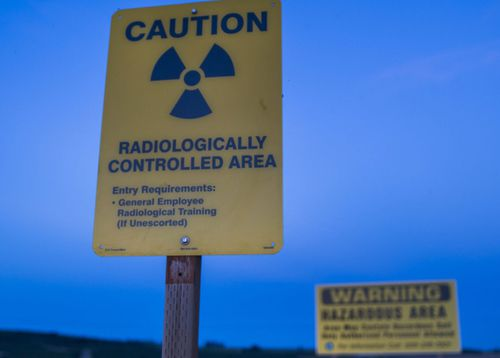 Radioactive particles are known to have contaminated 42 workers, which led to the shutdown of demolition