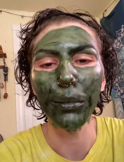 Chlorophyll face mask fail request for help