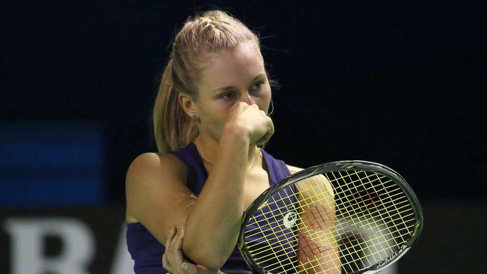 Daria Gavrilova was beaten in straight sets. (AAP)