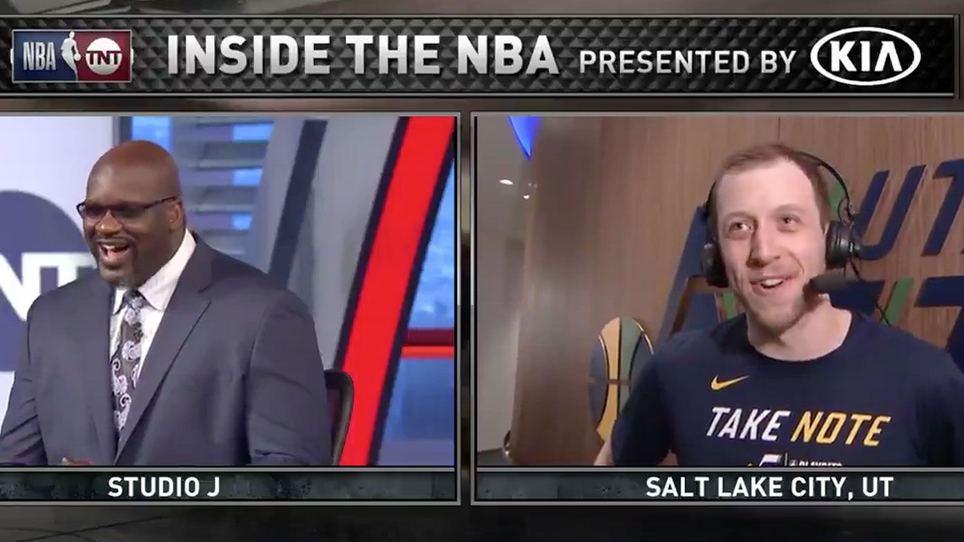 NBA legend Shaquille O'Neal busts out Australian accent in celebration of Joe Ingles