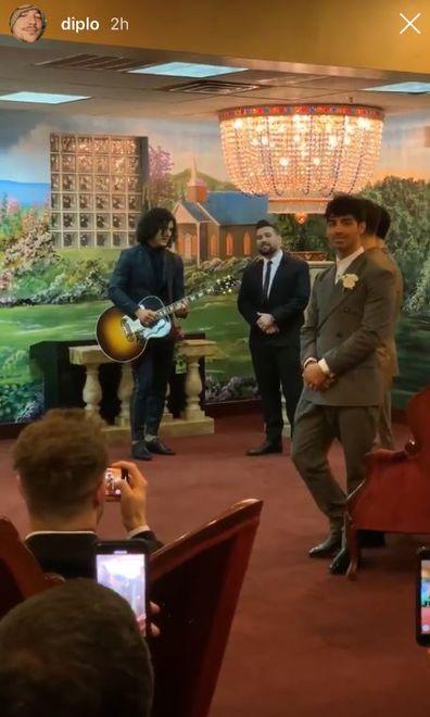 Nick Jonas and Sophie Turner get married