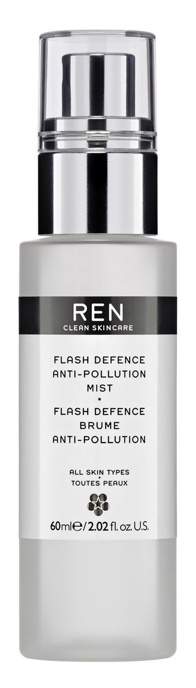"<a href=""http://mecca.com.au/ren/"" target=""_blank"">REN Flash Defence Instant Anti-Pollution Shield, $73.00.</a>"