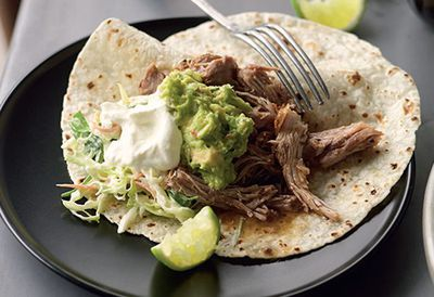 "<a href=""http://kitchen.nine.com.au/2016/05/05/13/36/suzanne-gibbs-pulledpork-tortillas"" target=""_top"">Suzanne Gibbs' pulled-pork tortillas</a>"