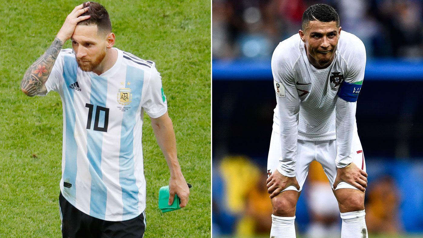 Russian couple divorce over Ronaldo-Messi debate