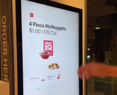 Man's McDonald's hack scores him 20 McNuggets for the price of four