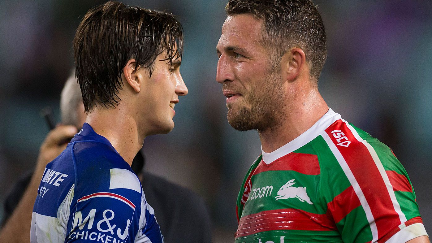 Lachlan Lewis reveals Sam Burgess sledge during Good Friday clash
