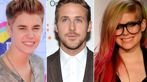 Justin Bieber, Ryan Gosling and Avril Lavigne are related - and you could be their cousins too