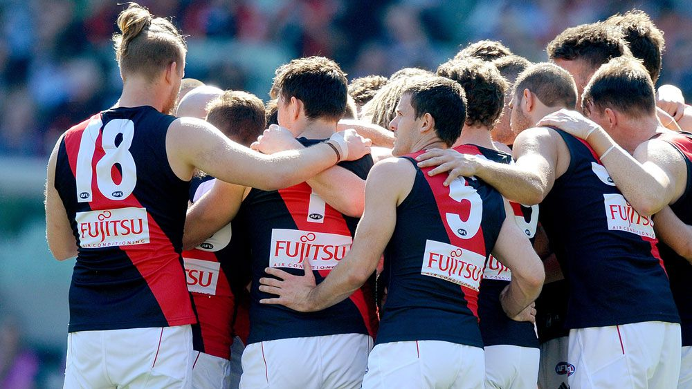Essendon players. (AAP)