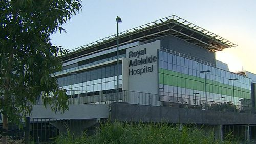 Parts of the New Royal Adelaide Hospital were without electricity for more than 20 minutes today after a mass power outage (Supplied).