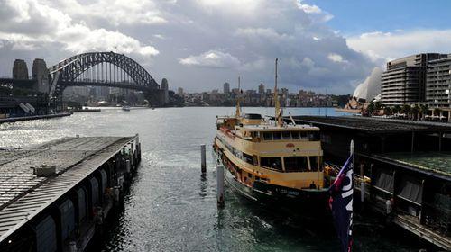 Ferry passengers left adrift on wharf closure