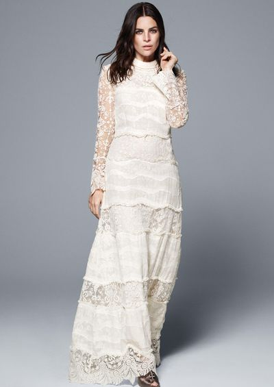 "<p>High street giant H&amp;M is joining the likes of <a href=""http://honey.ninemsn.com.au/2016/01/11/10/31/marchesa-notte-bhldn-spring-collection"" target=""_blank"">Marchesa</a>, <a href=""http://honey.ninemsn.com.au/2015/11/20/08/58/asos-launches-bridal-range"" target=""_blank"">ASOS</a> and <a href=""http://honey.ninemsn.com.au/2015/12/03/09/36/affordable-bridal-dresses-self-portrait-bergdorf-goodman"" target=""_blank"">Self-Portrait</a> in the affordable bridal wear category, unveiling a new Conscious Exclusive collection containing three wedding dresses. Modelled by editor and ultimate in French girl cool, Julia Restoin-Roitfleld, the collection was inspired by archive pieces from Paris' Musée des Arts Décoratifs and is made more sustainably than the main line. If you're not getting hitched any time soon, you'll also find plenty of wedding guest-worthy pieces that won't cost more than the gift.</p><p>The range is available from 7 April online and in select stores. Click through to see every piece from the collection.</p>"