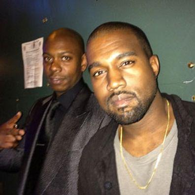 Kanye West, Dave Chappelle, Instagram, photo